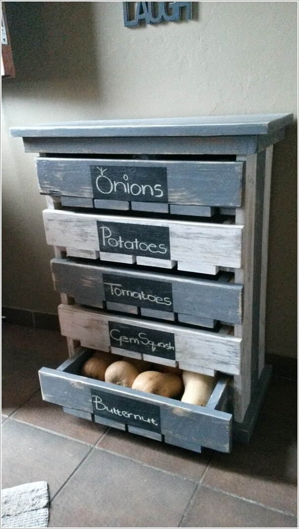 Image via pallets ideas & 15 Clever Pallet Storage Projects for Your Home