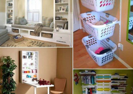 15 Clever Ways to Use Your Walls For Storage fi