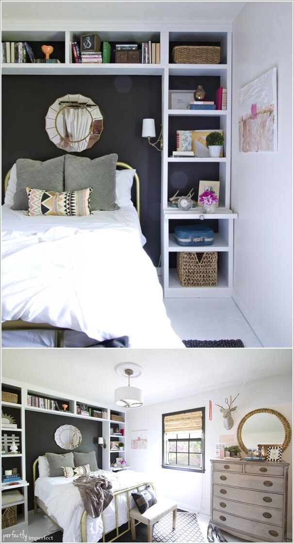 15 clever storage ideas for a small bedroom 20411 | 15 clever storage ideas for a small bedroom 4