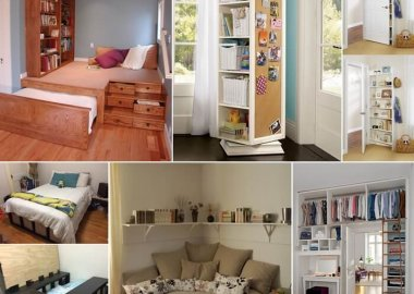 15 Clever Storage Ideas for a Small Bedroom fi