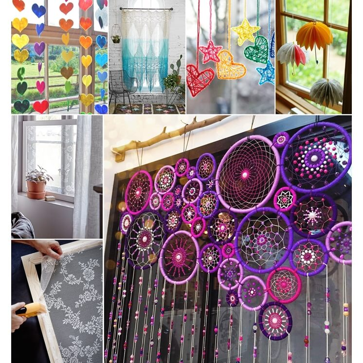 15 creative diy window decorations to try this spring - Window decorations for spring ...