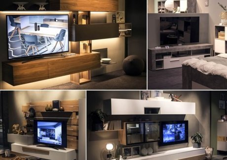 25 Terrific TV Unit Designs for Your Living Room fi