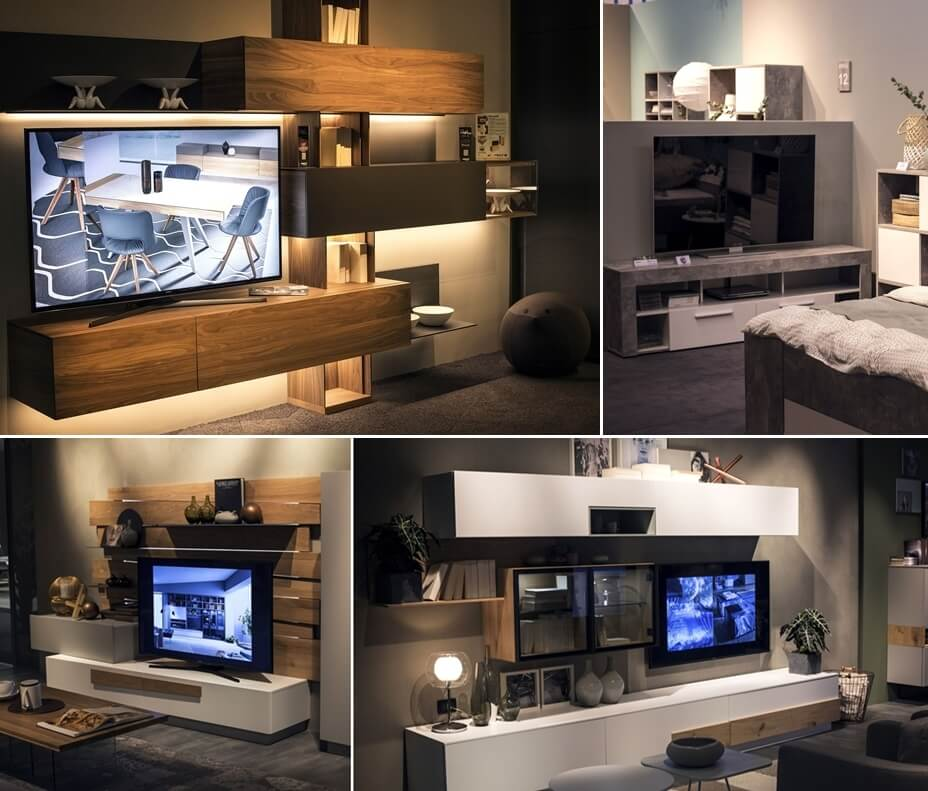 25 terrific tv unit designs for your living room for Tv unit designs for living room