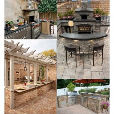29 Awesome Outdoor Barbeque Kitchen Ideas fi