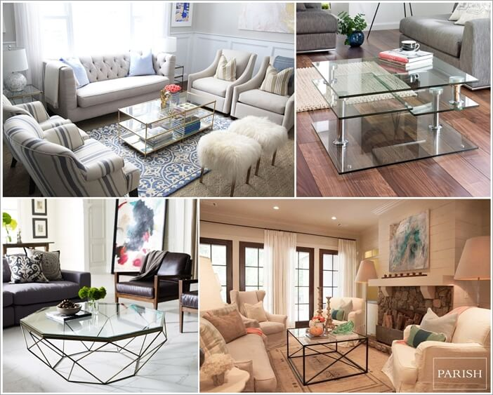 30 gorgeous glass coffee table designs for Gorgeous glass coffee table