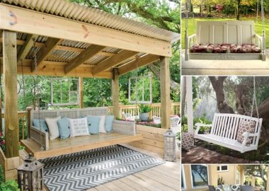 Adorn Your Porch with a Swing This Summer fi