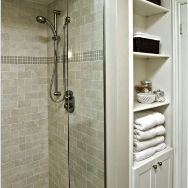 10 Clever Ways to Store Towels Near The Shower Enclosure 3
