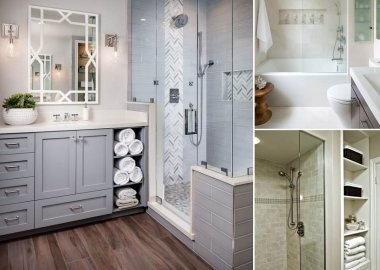 10 Clever Ways to Store Towels Near The Shower Enclosure fi