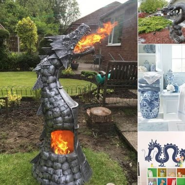 10 Inspiring Chinese Dragon Home Decor Ideas fi