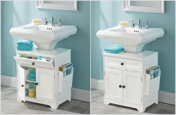 10 space saving storage ideas for your bathroom - Space saving cabinet ideas ...