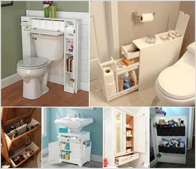 10 space saving storage ideas for your bathroom for Ideas for your bathroom