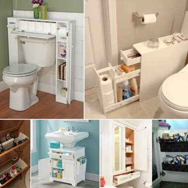 10 Space-Saving Storage Ideas for Your Bathroom fi