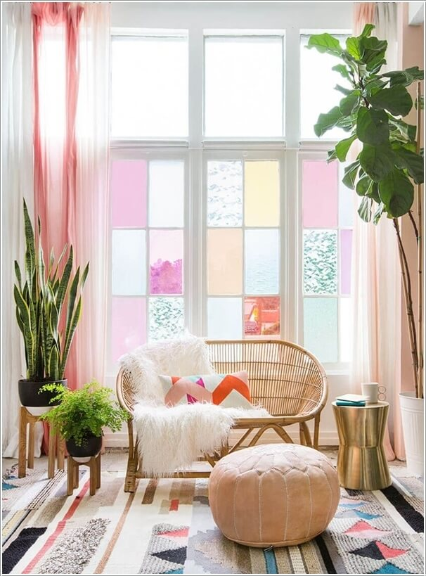 10 ways to use pastels in your living room for Pastel diy room decor