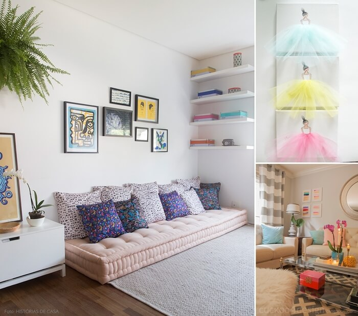 30 Stunning Ways To Decorate Your Living Room For: 10 Ways To Use Pastels In Your Living Room