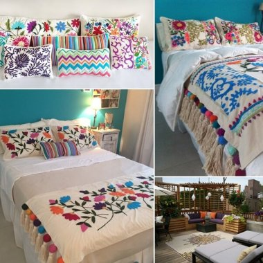 10 Wonderful Embroidery Home Decor Ideas fi