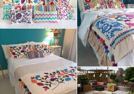 10 Wonderful Embroidery Home Decor Ideas fi