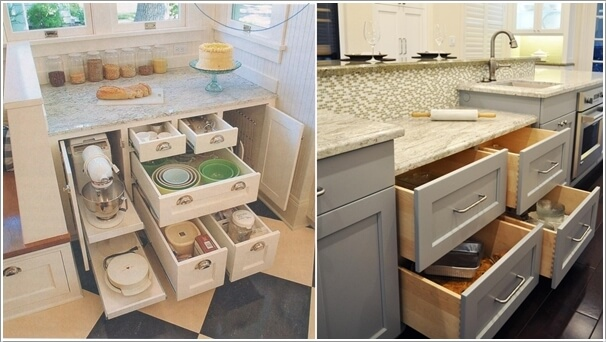 Claim Drawers For All The Baking Supplies And Use Counter E Above Mixing