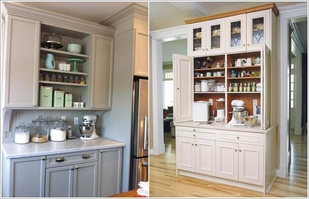 Claim The Space Of A Hutch For A Baking Center