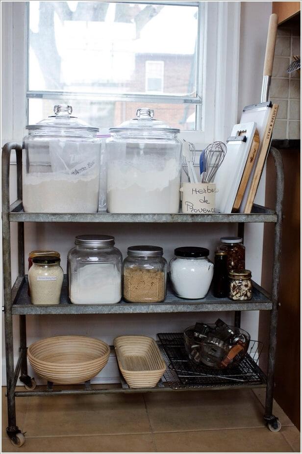 10 Wonderful Ways To Set Up A Baking Station
