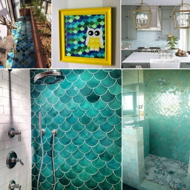 12 Wonderful Fish Scale Decor Ideas fi