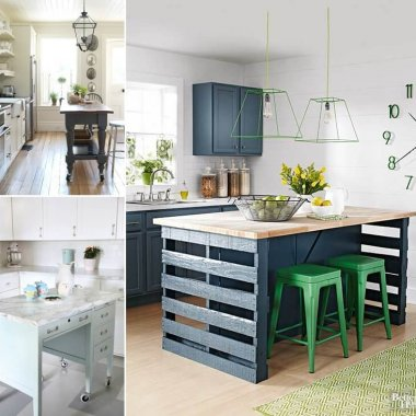 Alternative Kitchen Islands Created from Recycled Stuff fi