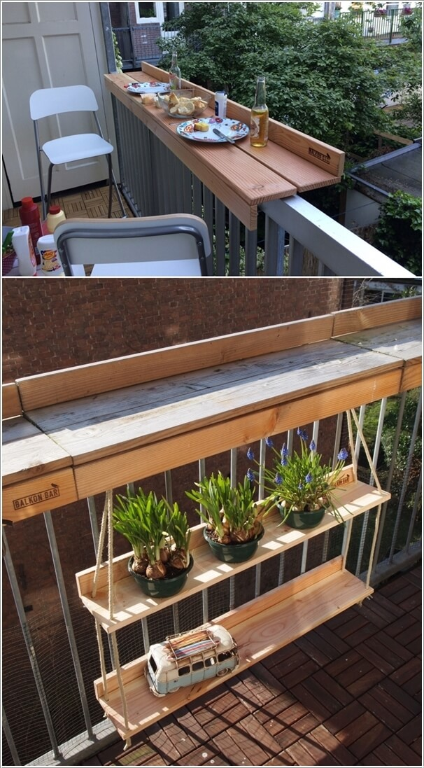 DIY Balcony Tables That You Will Admire