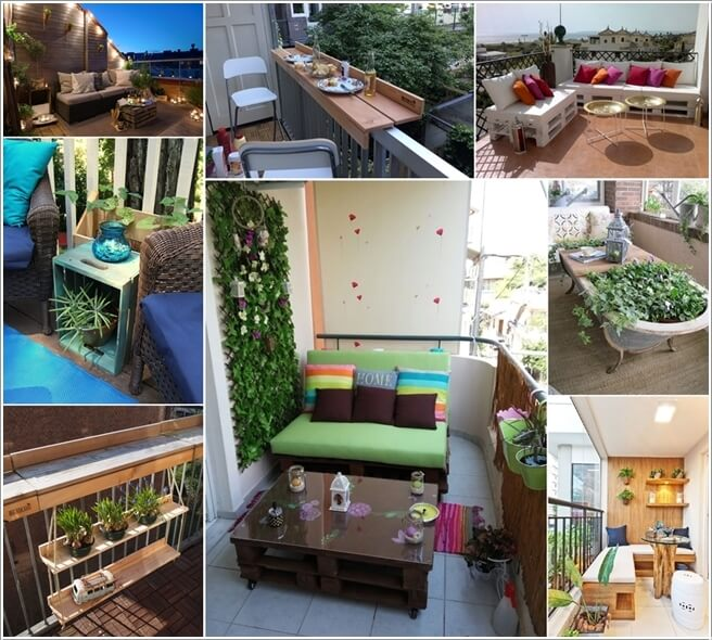 Amazing Outdoor Kitchens That You Might Have While Living: DIY Balcony Tables That You Will Admire