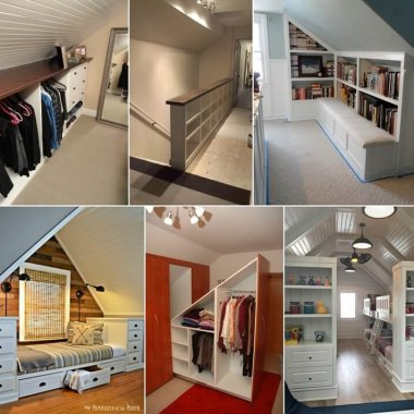 Clever Ways to Add Storage to an Attic fi