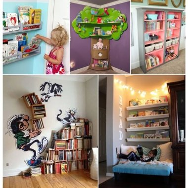 Creative Bookcase Ideas for Your Little Readers fi