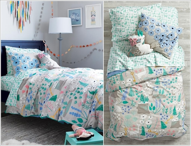 7 Inspiring Kid Room Color Options For Your Little Ones: Creative Forest Themed Kids Bedroom And Nursery Decor Ideas