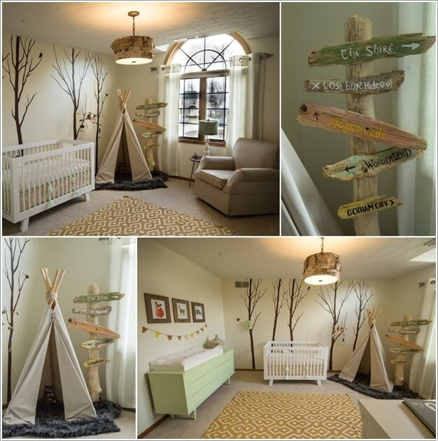 Awesome forest themed bedroom gallery for Forest themed bedroom ideas