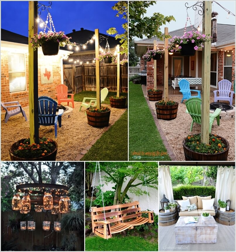 Decorate Your Home S Outdoor Area With Wine Barrels