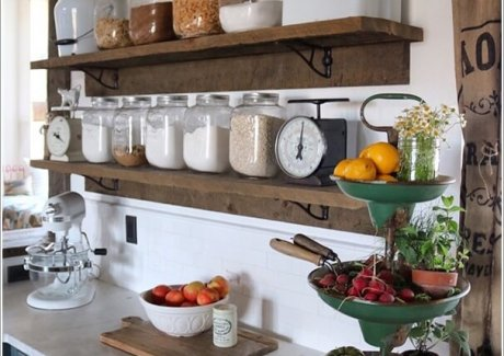 Decorate Your Kitchen in Charming Farmhouse Style 2