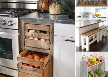 Decorate Your Kitchen in Charming Farmhouse Style fi