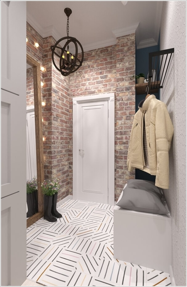 Design your entryway wall in a unique way - Idee amenagement entree maison ...
