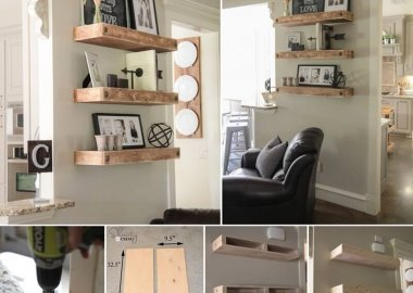 These Floating Shelves with Clavos Are So Beautiful fi