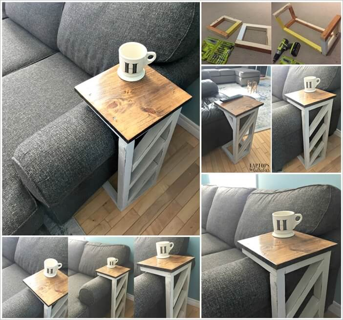 This Diy Sofa Table Is Simply Awesome