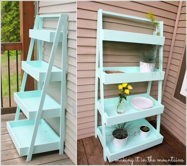 21 Amazing Shelf Rack Ideas For Your Home: Unique Planter Shelf Ideas For Your Home And Garden