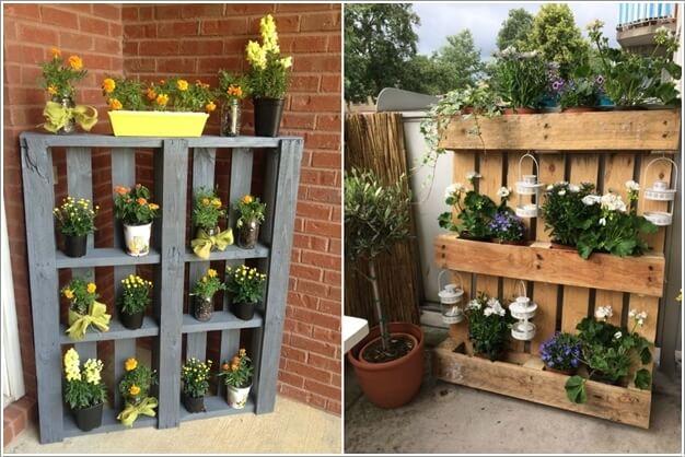 Unique Planter Shelf Ideas For Your Home And Garden