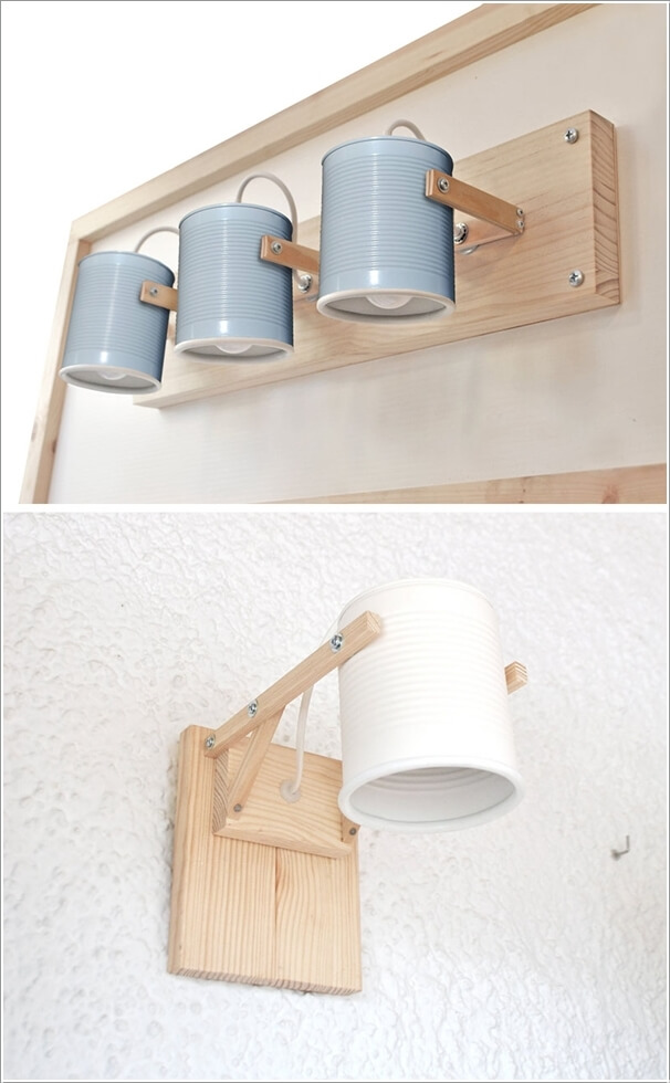 Homemade Wall Lamp : 10 Creative and Unique DIY Wall Lamps