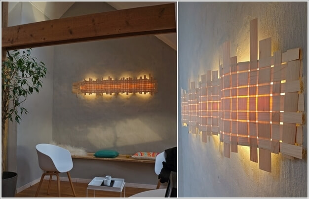 Cool Diy Wall Lamps : 10 Creative and Unique DIY Wall Lamps