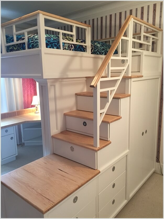 10 Loft Bed Designs You'll Totally Love
