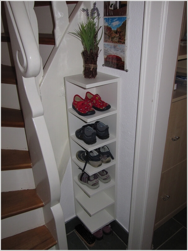 Famous 15 Clever Narrow and Vertical Shoe Storage Ideas KB97
