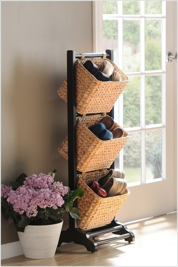 Beautiful 15 Clever Narrow and Vertical Shoe Storage Ideas NB31