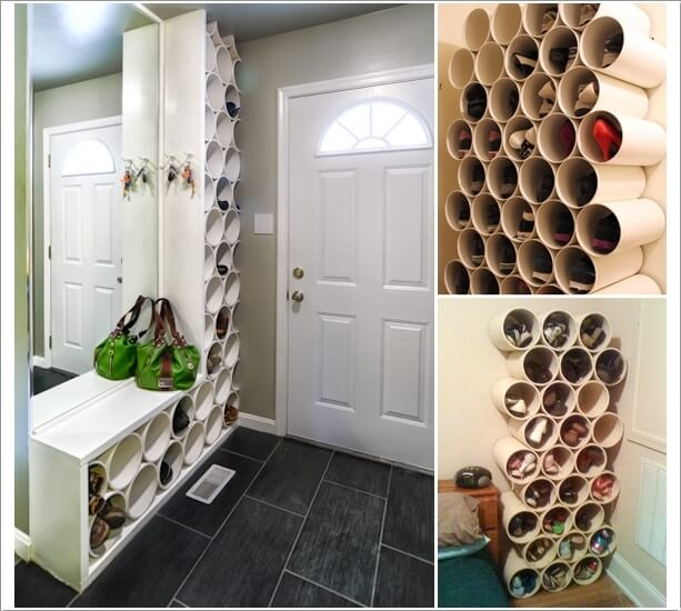 Wonderful 15 Clever Narrow and Vertical Shoe Storage Ideas IW15