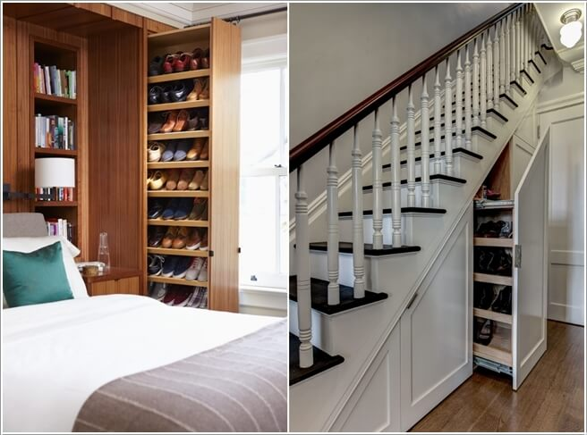 Relatively 15 Clever Narrow and Vertical Shoe Storage Ideas XR99