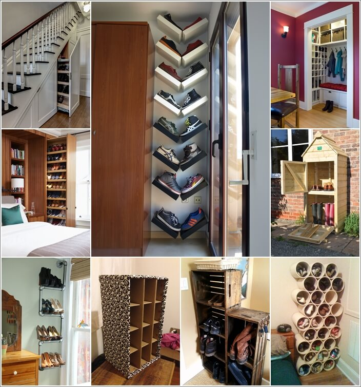15 Clever Narrow and Vertical Shoe