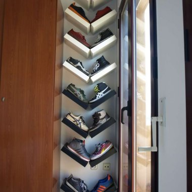 15 Clever Narrow and Vertical Shoe Storage Ideas fi