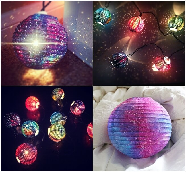 25 Diy Decorating Projects That You Are Inspired To Do: 15 Stunning DIY Galaxy Inspired Decor Ideas