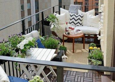 15 Wonderful Balcony Floor Ideas fi
